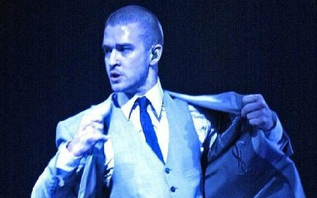Justin Timberlake (photo credit: Gregxscene/Wikimedia Commons)
