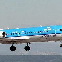 A KLM Royal Dutch airplane (Wikimedia commons/ Arpingstone/ Public Domain)