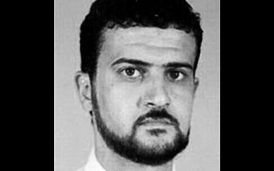 Nazih Abdul-Hamed al-Ruqai, known by his alias Anas al-Libi (photo credit: AP/FBI)