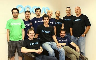 The Onavo team in 2013 (Photo credit: Courtesy)