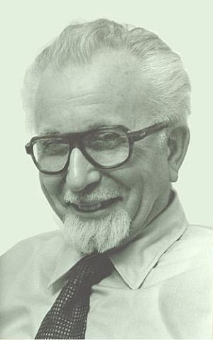 Reuben Hecht (photo credit: Hecht Museum)