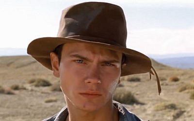 River Phoenix in his last, incomplete, movie, 'Dark Blood' (photo credit: courtesy)