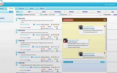 ITNavigator's social media management control panel (Photo credit: Courtesy)