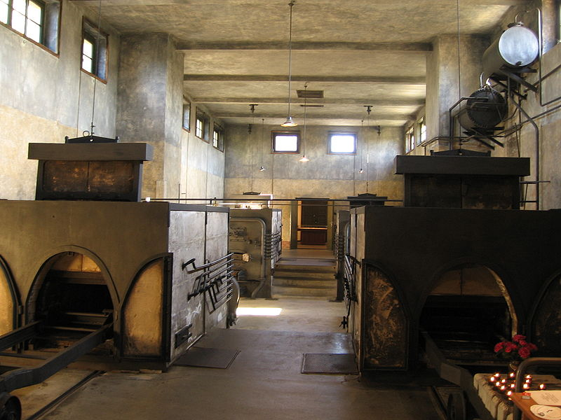 The Crematorium at Theresienstadt (photo credit: Samuel Wantman / Wikipedia Commons)