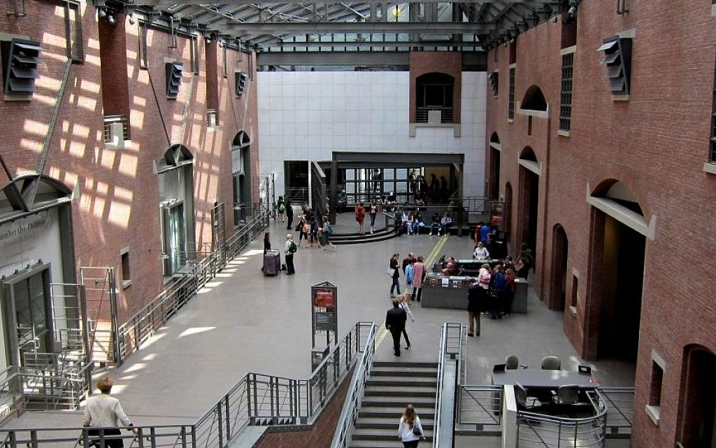 The United States Holocaust Memorial Museum was closed for the first two weeks of October, due to the US government shutdown (photo credit: courtesy)
