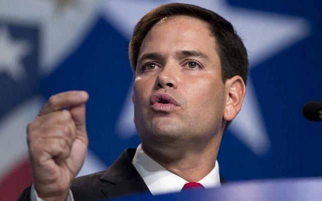 Republican Senator Marco Rubio (AP/Jose Luis Magana)