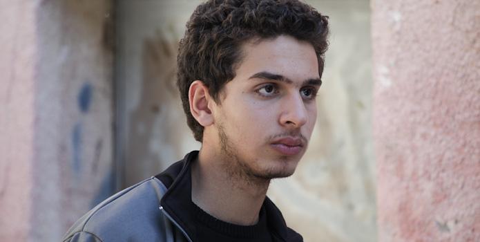 Shadi Mar'i, who plays Sanfur, the young collaborator, in 'Bethlehem' (Courtesy 'Bethlehem')