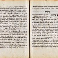 A Hebrew Bible from the Palatina Library's De Rossi collection. (Courtesy: National Library of Israel)