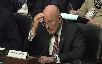 National Intelligence Director James Clapper. (screen capture: Youtube/BigChannelNews)