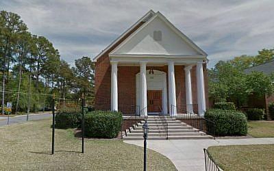 Temple Emanu-El in Dothan, Alabama. (Photo credit: Google Street View)