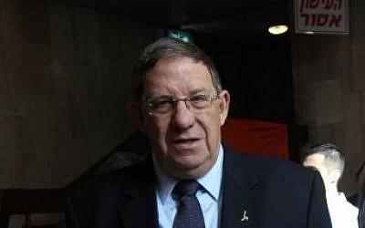 Former Shin Bet head Carmi Gillon (Yossi Zamir/Flash90)