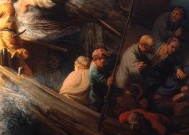 Is the hunt for rembrandts stolen galilee almost over the a detail from storm on the sea of galilee by rembrandt thought publicscrutiny Choice Image
