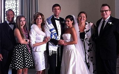 Wedding scene in 'Jewtopia' (photo credit: courtesy)