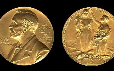 The Nobel chemistry medal (photo credit: Courtesy)