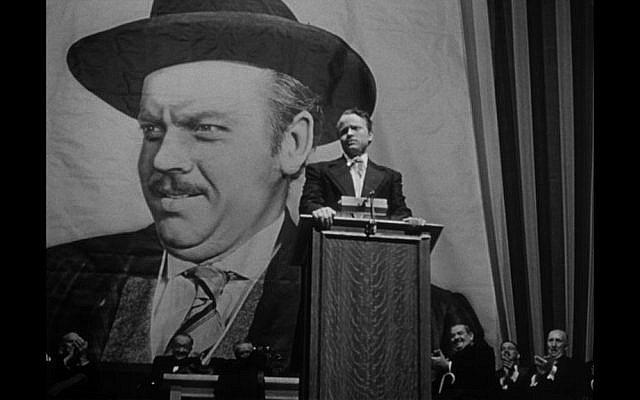 A scene from film critic Stanley Kauffmann favorite, 'Citizen Kane.' (photo credit: courtesy)