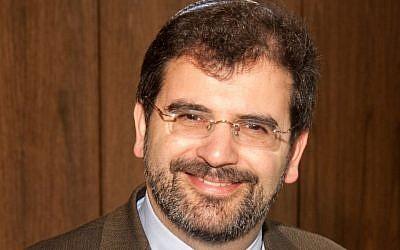Rabbi Asher Lopatin (photo credit: via JTA)