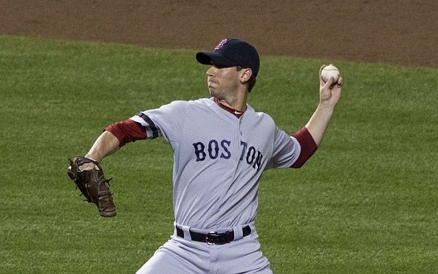 Jewish Red Sox pitcher Craig Breslow (photo credit: JTA)