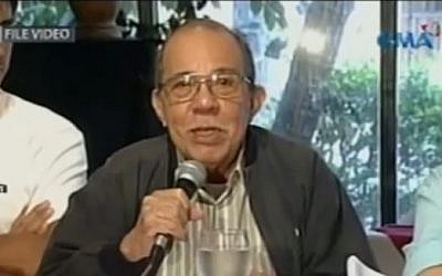 Pastor Eddie Romero (screen capture: YouTube/GMA News)