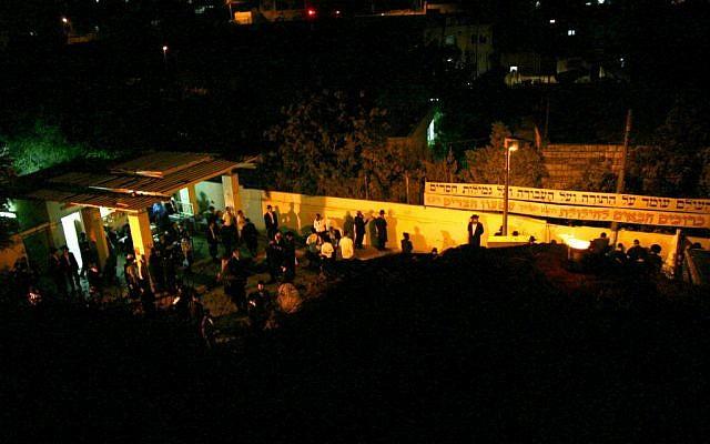 Shimon Hatzaddik tomb celebrations (photo credit: Shmuel Bar-Am)