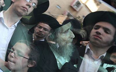 Aharon Leib Shteinman is considered the leader of the non-Hasidic Lithuanian world. (photo credit: Yaakov Naumi/Flash90)