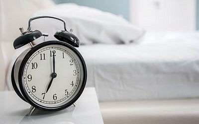 Daylight savings time (clock image via Shutterstock)