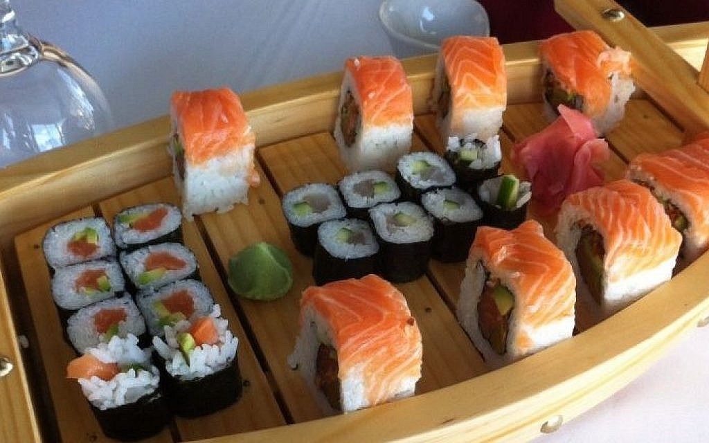 Eating very pricey sushi in Ramallah | The Times of Israel