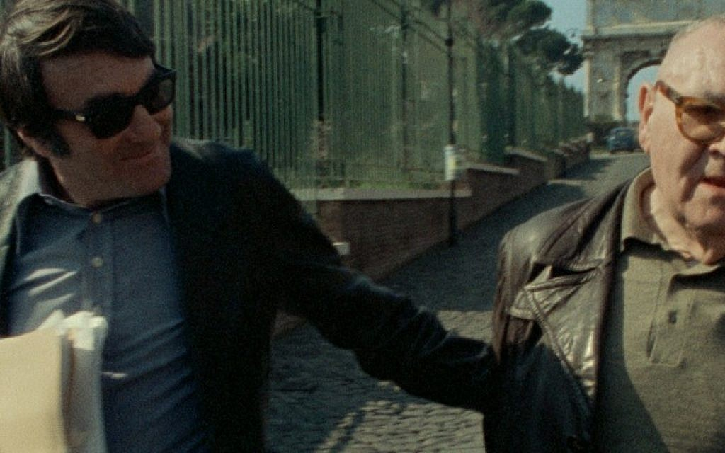 Scene from 'The Last of the Unjust' by Claude Lanzmann. (photo credit: courtesy)