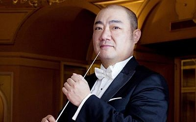 Xu Zhong, a famed Chinese conductor, will spend the season with the Haifa Symphony Orchestra. (photo credit: courtesy image)
