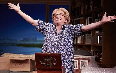Debra Jo Rupp in 'Becoming Dr Ruth' (photo credit: courtesy)
