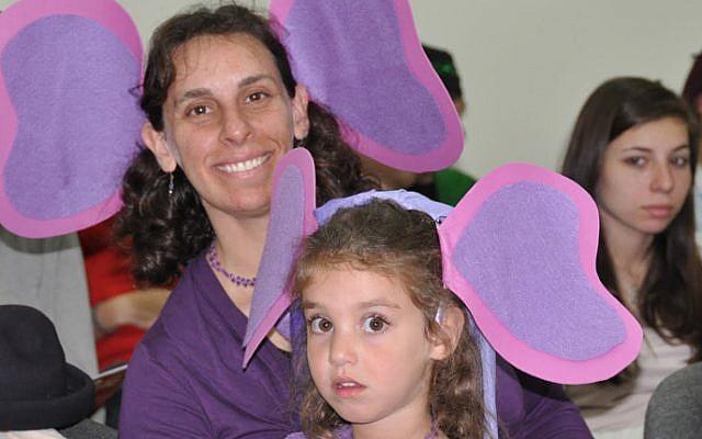 Purim at Kehillat Be'erot in Beersheba. (photo credit: courtesy)
