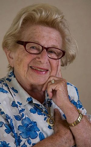 The incomparable Dr. Ruth Westheimer (photo credit: Marianne Rafter)