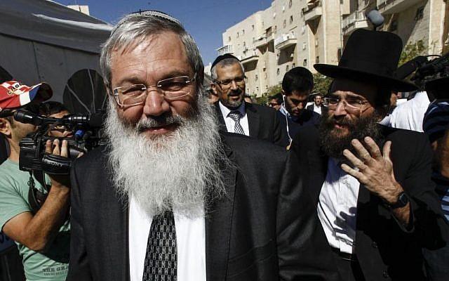 Deputy Minister Eli Ben Dahan (photo credit: Flash90)