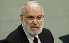 Former National Security Adviser Yaakov Amidror, October 14, 2013. (photo credit: Flash90)