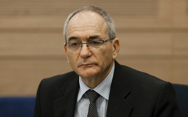 Yossi Kuperwasser at a recent Knesset hearing (Photo credit: Flash 90)