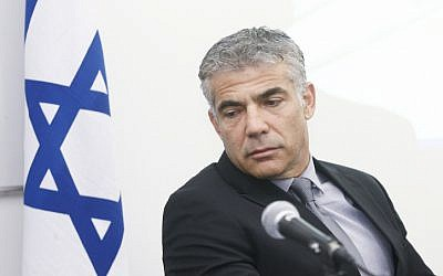 Finance Minister Yair Lapid, November 05, 2013. (photo credit: Roni Schutzer/FLASH90)
