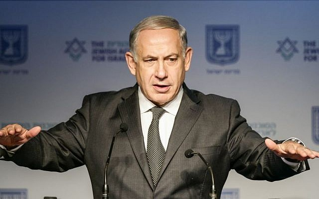 Prime Minister Benjamin Netanyahu speaks in Jerusalem on November 07, 2013. (photo credit: Flash90)