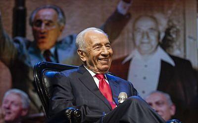 President Shimon Peres (photo credit: Flash90)