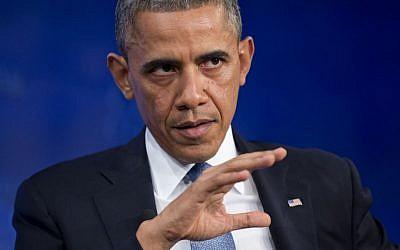 US President Barack Obama (photo credit: AP/Evan Vucci/File)