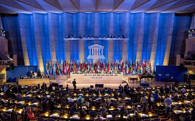 UNESCO delegates prior to the opening of the organization's 2013 General Conference in Paris, France. (AP/Benjamin Girette)