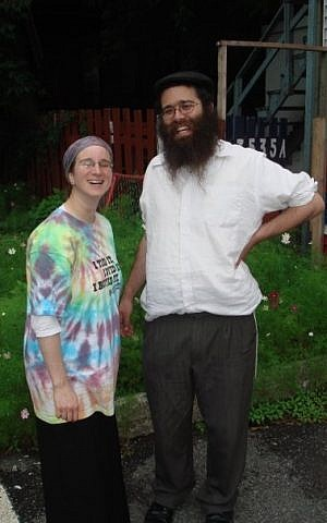 Leibish and Dena, frounders of the Getto Shul (photo credit: courtesy)