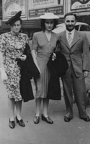 Grete Menkes & Elsa and Otto Philippsohn (photo credit: Sydney Jewish Museum)