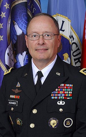 NSA chief Keith Alexander (photo credit: Courtesy)