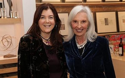 StandWithUs founder Roz Rothstein (left) with head of the Canadian office, Meryle Kates. (photo credit: courtesy)
