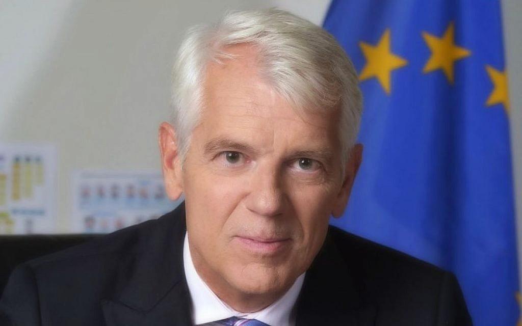 EU Ambassador to Israel Lars Faaborg-Andersen (photo credit: Yossi Zwecker)