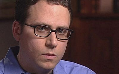 This May 7, 2003 file video frame grab released by CBS' '60 Minutes' shows Stephen Glass, former writer for The New Republic in New York. (photo credit: AP Photo/CBS News, file)