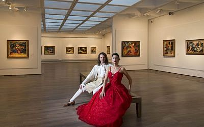 Opera in the Galleries of the Israel Museum, on November 24, 25, 27 and 28. Wander through the art galleries with Israel Opera soloists, a pianist, and a string trio. (photo credit: Elie Posner)