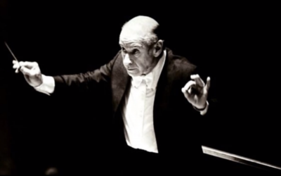 Conductor Erich Leinsdorf breaks the news of Kennedy's assassination, plays Beethoven's 3rd (photo credit: youTube Screen shot)