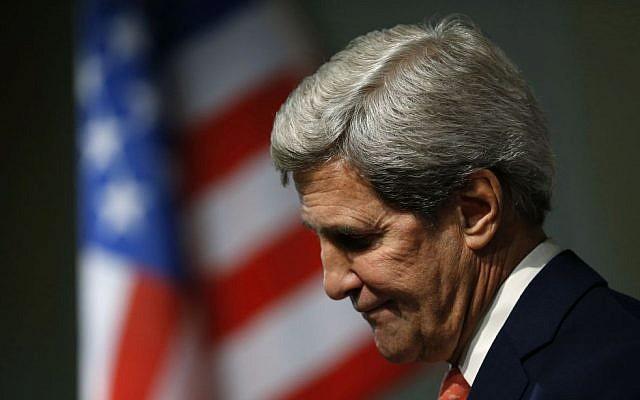 US Secretary of State John Kerry (photo credit: AP/Jason Reed/File)