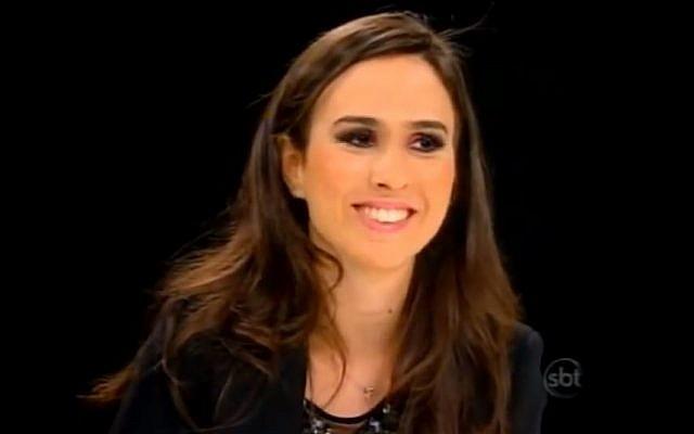 Brazilian actress Tata Werneck (photo credit: YouTube screenshot)
