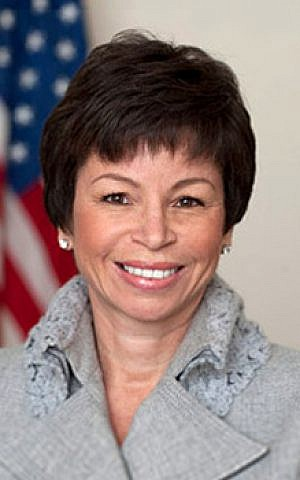 Valerie Jarrett, an adviser to US President Barack Obama (photo credit: public domain via Wikipedia)